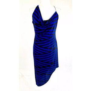 BAR lll Ruched Asymmetrical Stretch Dress